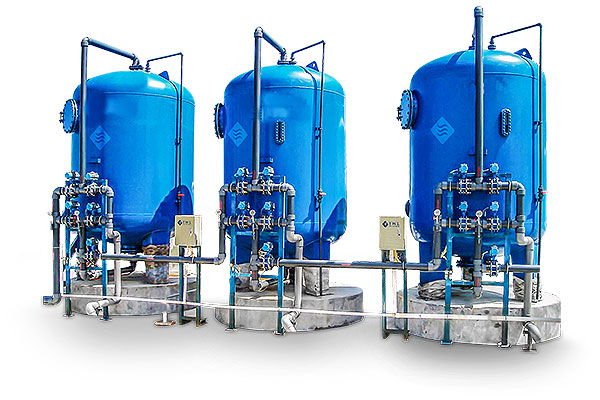 Fully Automated Sand Filtration Systems