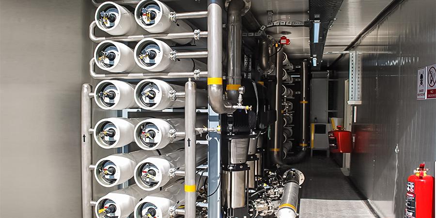 Afghanistan / Kandahar Mobile Reverse Osmosis System (60 ton / hour)